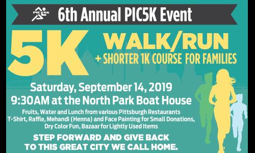 Pittsburgh Indian Community 5K Walk/Run