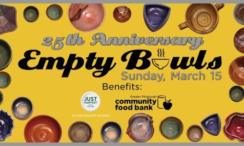 25th Annual Empty Bowls