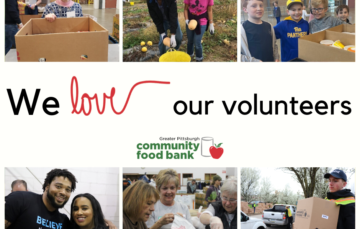 More than 6,000 volunteers donate 58,000 hours annually to ending hunger