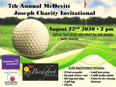 2020 McDevitt Joseph Charity Golf Outing