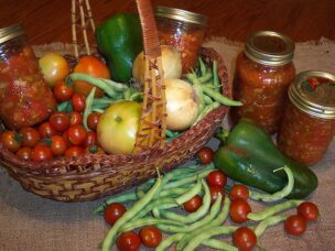 Preserving produce for off-season use