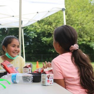 Advocating to ensure all kids have enough food